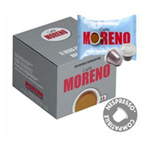 ΚΑΨΟΥΛΕΣ συμβατές nespresso* DECAF MORENO 100 CAPS 5 GR χωρίς καφεΐνη