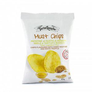 Αρτοποιήματα/Κράκερς Must Chips Με Τρούφα, Μέλι & Μουστάρδα 100g