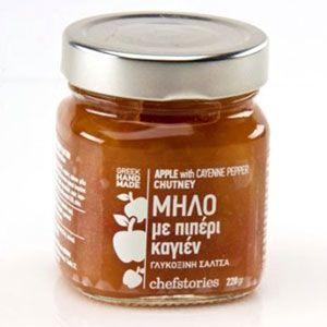 Chutney Μήλο Πιπέρι Καγιέν 800g