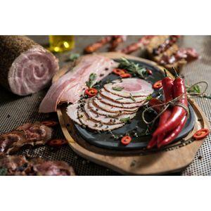 Μπέικον Χοιρινό Ρολό Φούρνου Μουλκιώτης (Με Επικάλυψη Πιπεριών) Φέτες Συσκ. 0,180γρ. Τεμάχιο