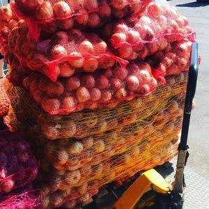 Κρεμμύδια Άσπρα Λακωνίας Χύμα Τσουβάλι 30 κιλων