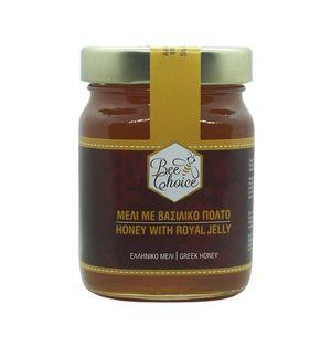 Μέλι με Βασιλικό Πολτό 250 γρ.