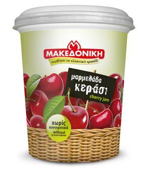 Μαρμελάδα Χαλβατζής Μακεδονικό κεράσι 450 γρ. (Παράδοση αποκλειστικά στο Ρέθυμνο)