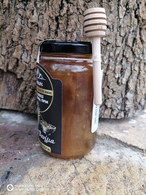 μελι ελατης βανιλια  100% βανιλια  συσκευασια 5 τεμαχια των 450 γραμμαριων το καθε ενα