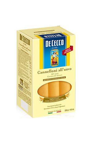 Ζυμαρικά De Cecco Cannelloni All'Uovo No100 250gr