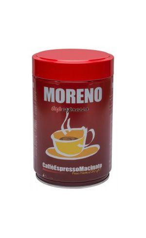Καφές Espresso αλεσμένος MORENO ποικιλία Top Espresso 250 gr
