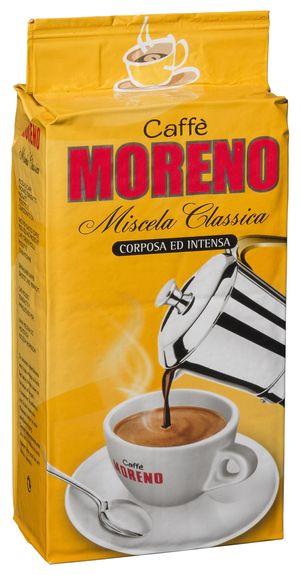 Καφές Espresso αλεσμένος MORENO ποικιλία Miscela Classica 250 gr