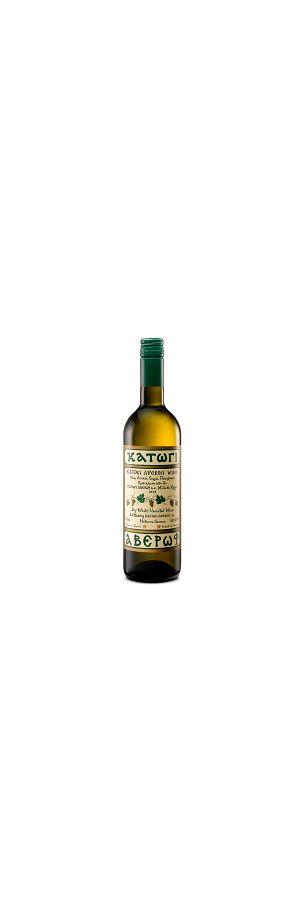 A) Κατώγι Αβέρωφ Ροδίτης, Chardonnay, Μοσχ. Αλεξανδρείας Λευκός 750ml (Stelvin, Χρονιά: 2019)